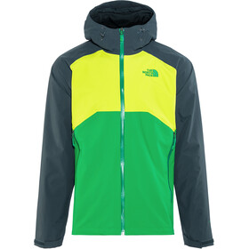 The North Face Stratos Veste Homme, primary green/lime green/kodiac blue